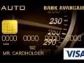 специальная карта заемщика Visa Auto