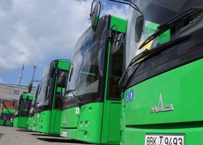 Зеленая карта на автобус