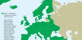 Зеленая карта на год