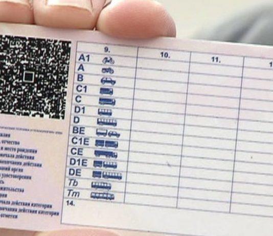 Что означает категория c1 в водительском удостоверении
