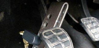 Защита от угона на педали
