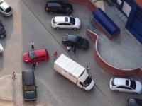 Эвакуация автомобиля со двора