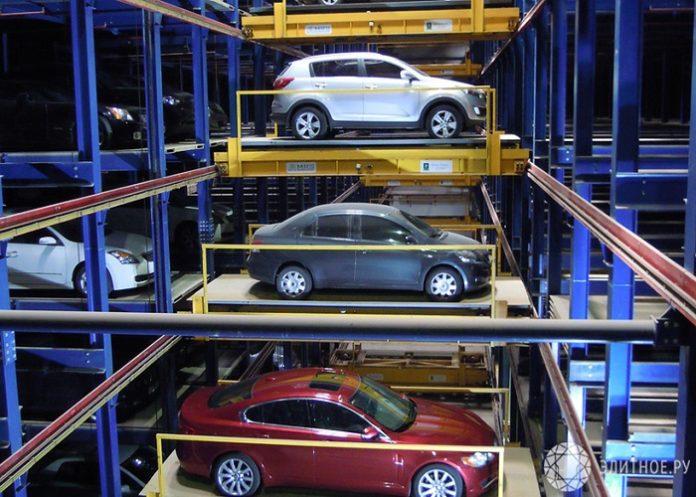 Механизированные парковки.