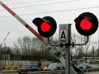 Светофор на ЖД переезде