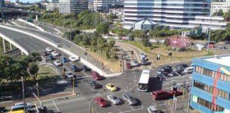 Обгон на перекрестке на главной дороге
