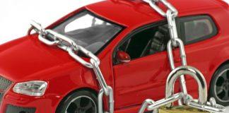Запрет на переоформление автомобиля.