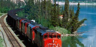 Железнодорожные перевозки грузов.