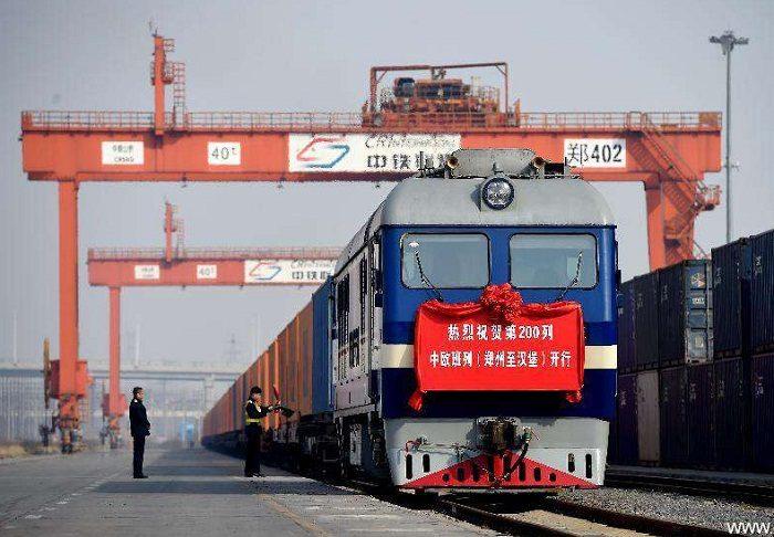 Железнодорожные перевозки из Китая.