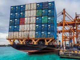 Морские контейнерные перевозки.