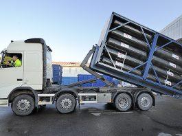 Перевозки газовых баллонов автотранспортом.
