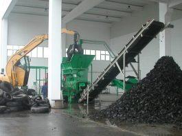 Утилизация шин.