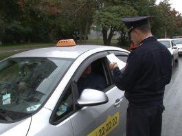 Работа в такси без лицензии.